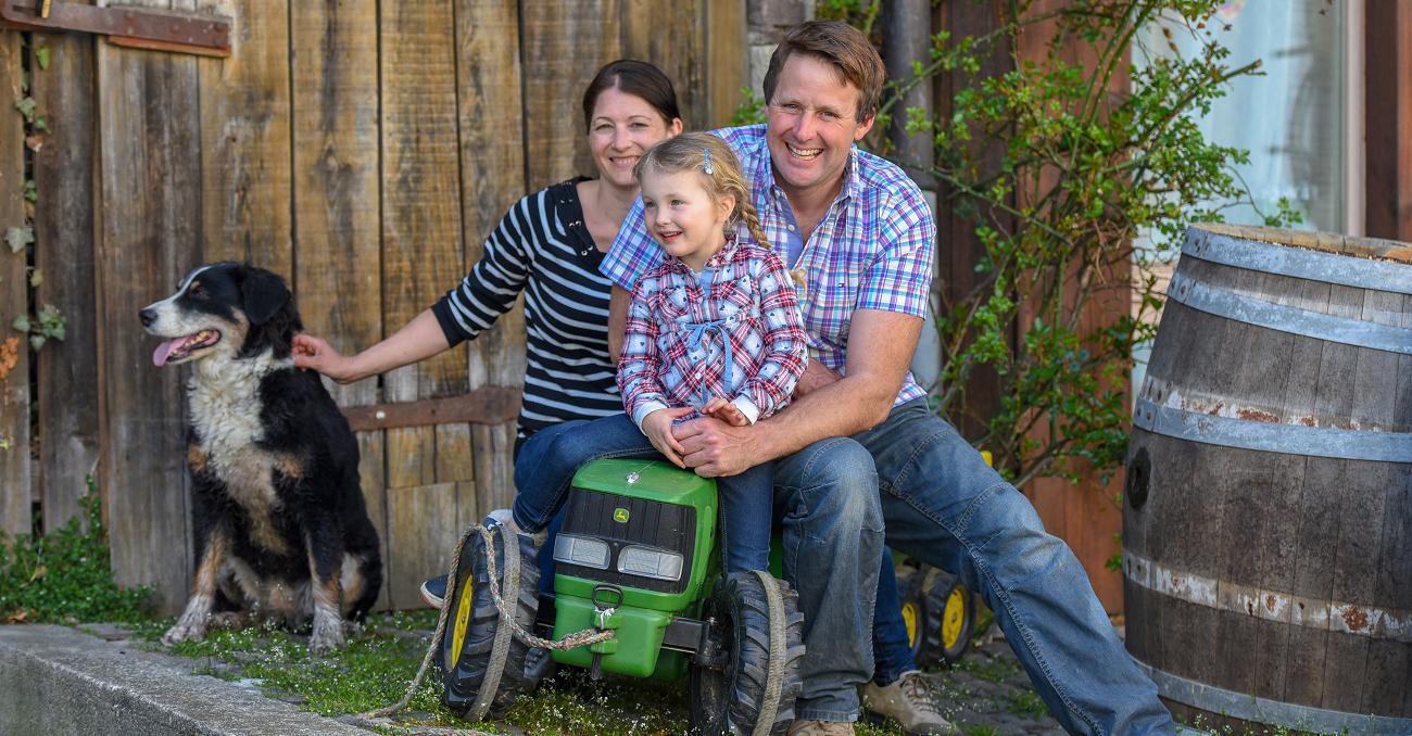 Bauernhof-Werffeli-Familenfoto